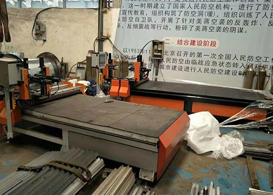 角铁法兰焊接机